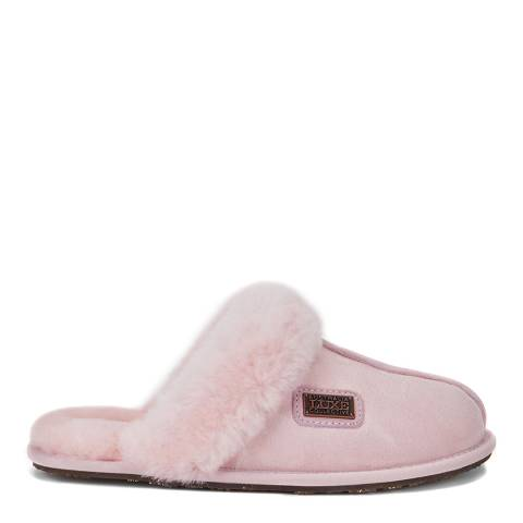 Australia Luxe Collective Dusty Pink Closed Mule Slipper