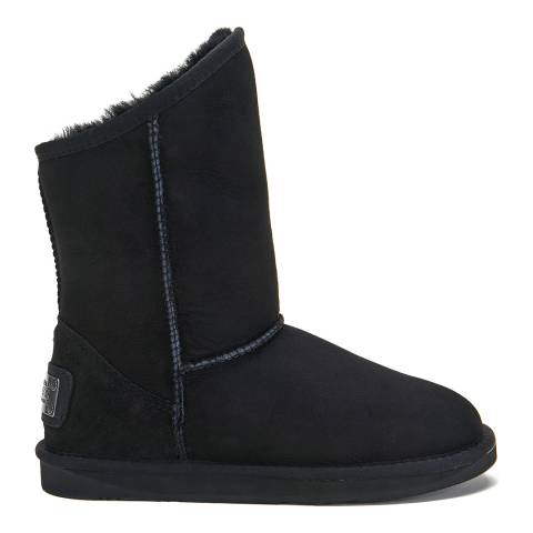 Australia Luxe Collective Black Cosy Short Ankle Boots