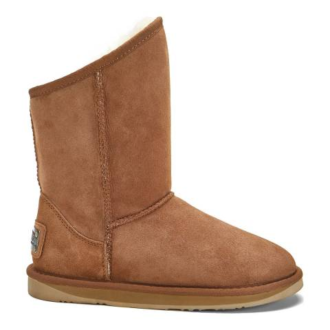 Australia Luxe Collective Chestnut Cosy Short Ankle Boots