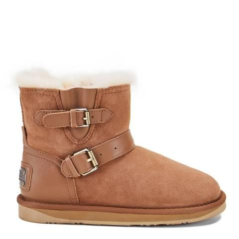 Australia Luxe Collective Chestnut La Machina X Short Ankle Boots