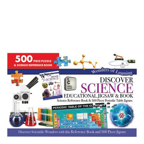 Wonders of Learning Science Large Jigsaw/Book Set