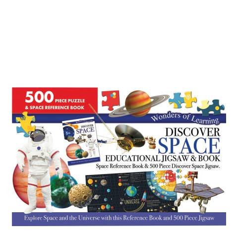 Wonders of Learning Space Large Jigsaw/Book Set
