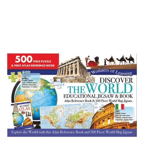 Wonders of Learning The World Large Jigsaw/Book Set