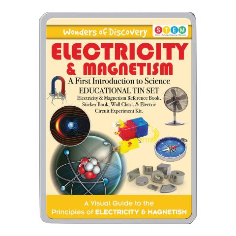 Wonders of Learning Electricity And Magnets Large Tin Set