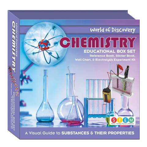Wonders of Discovery Chemistry Square Box Set
