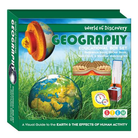 Wonders of Discovery Geography Square Box Set