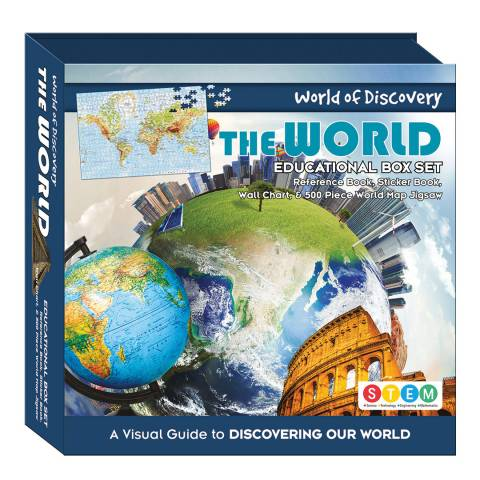 Wonders of Discovery The World Square Box Set
