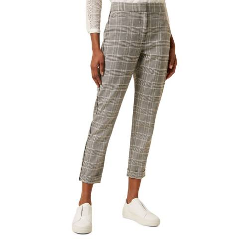 Great Plains Black Check Trousers