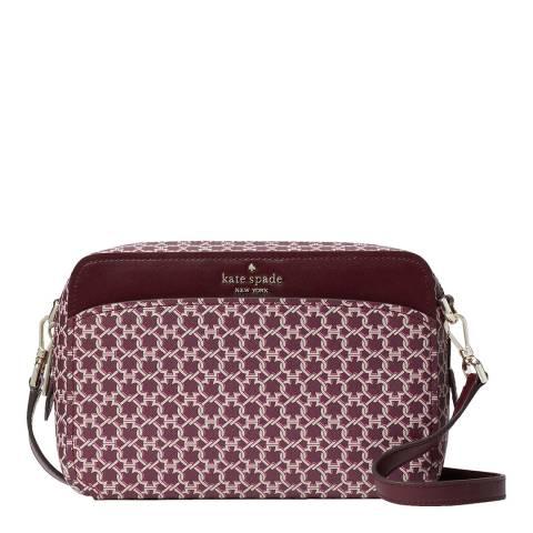 Kate Spade Pink Spade Monogram Camera Bag