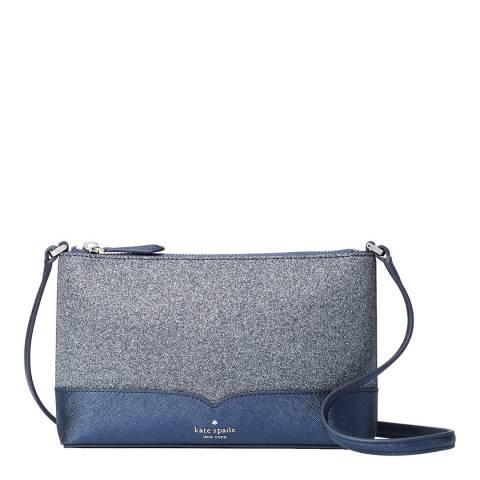 Kate Spade Dusk Navy Glitter Crossbody Bag
