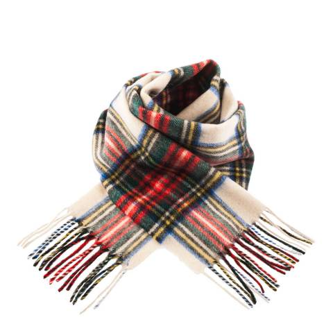 Edinburgh Lambswool Stewart Dress Lambswool Tartan Scarf