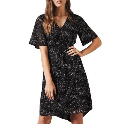 Phase Eight Black Rosina Glitter Dress