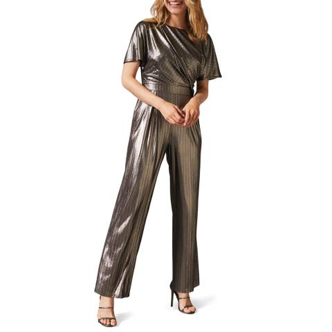 Phase Eight Gold Gabriella Jumpsuit