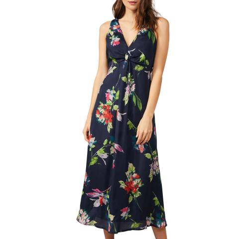 Phase Eight Multi Floral Trapeze Dress