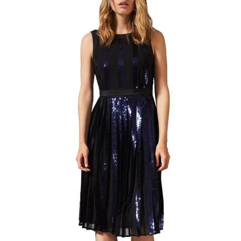 Phase Eight Black Alani Sequin Dress