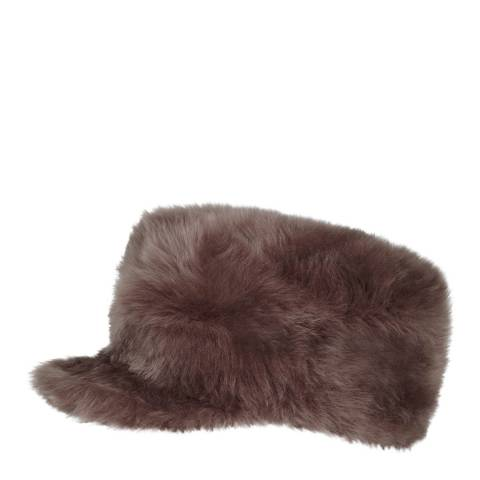 Gushlow & Cole Tearose Shearling cap