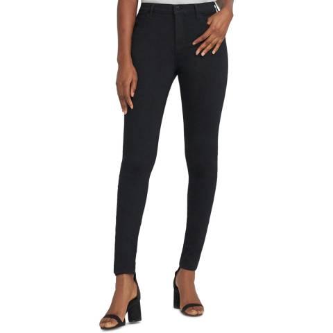 J Brand Black Maria High Rise Skinny Stretch Jeans