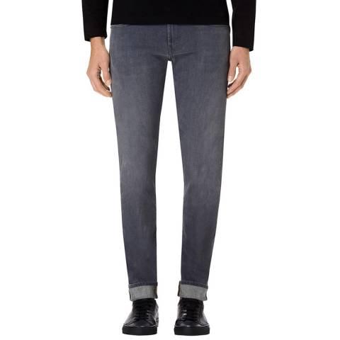 J Brand Grey Tyler Slim Stretch Jeans