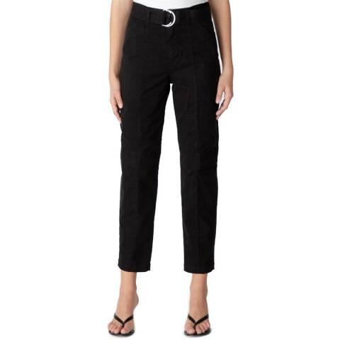 J Brand Black Athena Tapered Surplus Trousers