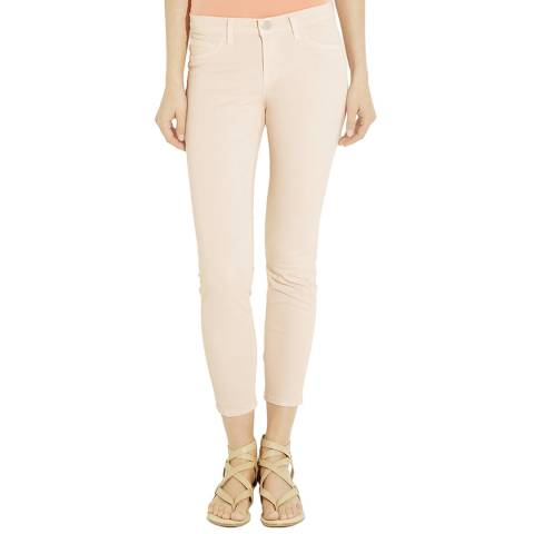 J Brand Nude 835 Mid Rise Skinny Stretch Jeans