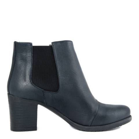 Fashion Attitude Blue Leather Eva Boot