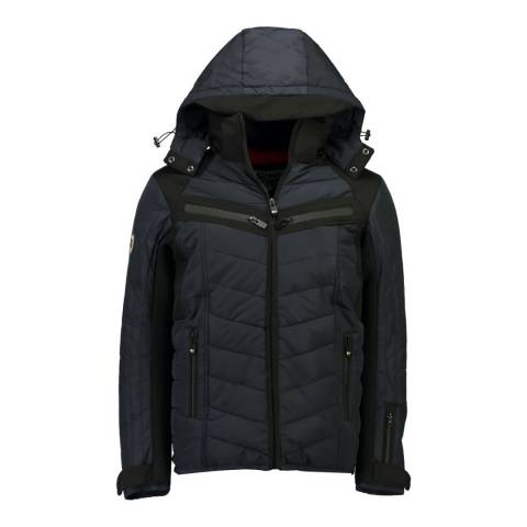 StoneGoose Navy Stone Goose Quilted Jacket