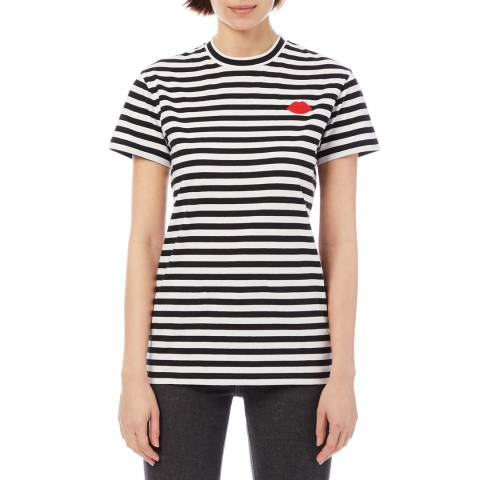 Lulu Guinness Stripe & Lips Macie T-Shirt