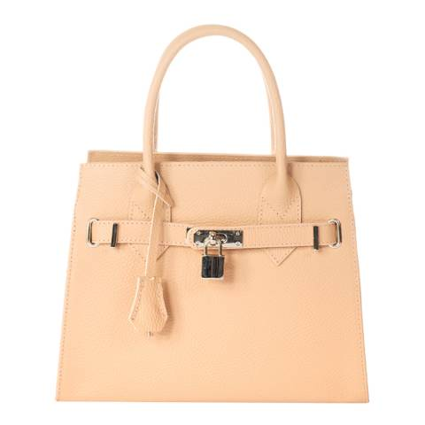 Giorgio Costa Cipria Leather Top Handle Bag