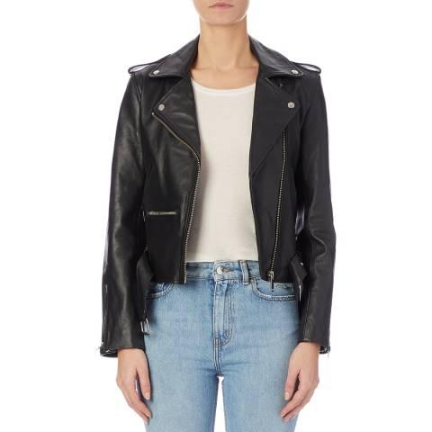 Bolongaro Trevor Black Amy Leather Biker Jacket