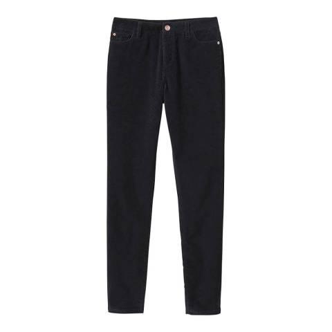 Crew Clothing Black Cord Trouser