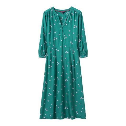 Crew Clothing Green Lila Dress