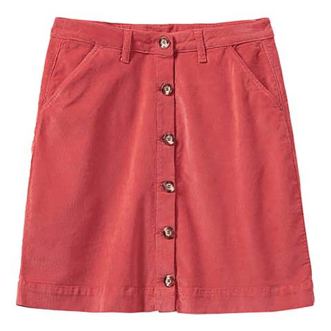 Crew Clothing Red Cord Skirt