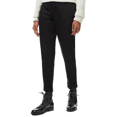 Crew Clothing Black Stretch Trouser