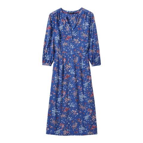 Crew Clothing Blue Lila Dress