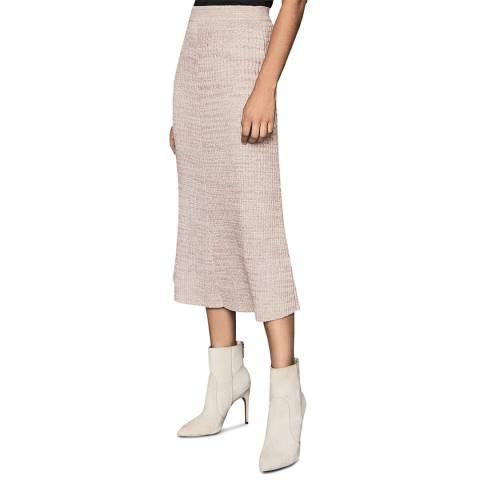 Reiss Nude Skyla Knitted Skirt
