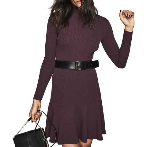 Reiss Berry Mimi Flippy Knit Dress
