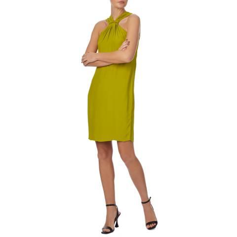 Reiss Bright Green Hilda Dress