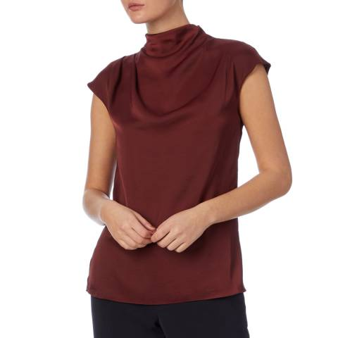 Reiss Berry Stella Satin Top