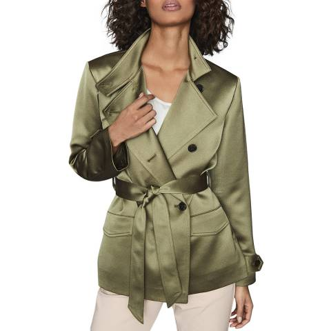 Reiss Khaki India Utility Jacket