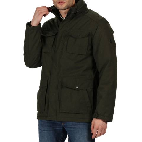 Regatta Dark Khaki Eneko Waterproof Jacket