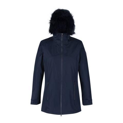 Regatta Navy Myla Waterproof Insulated Jacket
