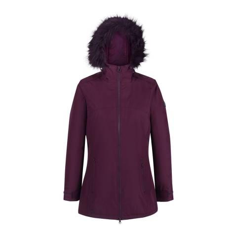 Regatta Dark Burgundy Myla Waterproof Insulated Jacket