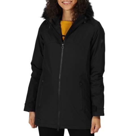 Regatta Black Myla Waterproof Insulated Jacket