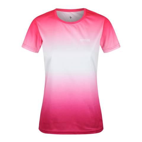 Regatta Neon Pink Gradi Fingal V T-Shirt
