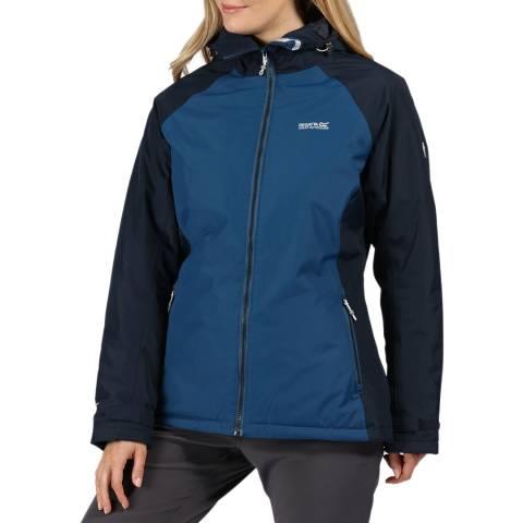 Regatta Blue Opal/ Navy Voltera Protect Walking Jacket