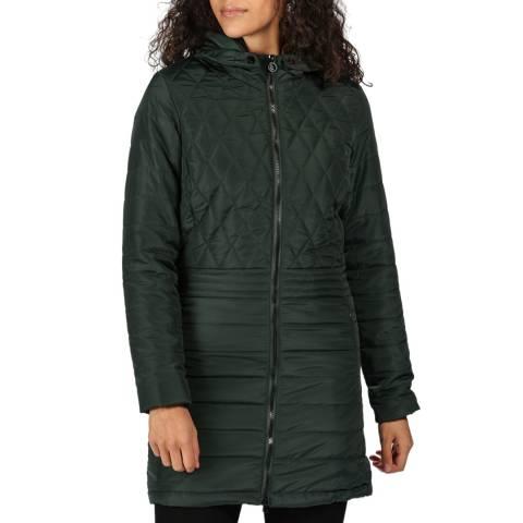 Regatta Dark Green Parmenia Hooded Parka Jacket