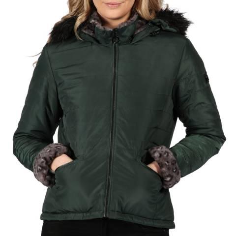 Regatta Dark Green Westlynn Hooded Jacket