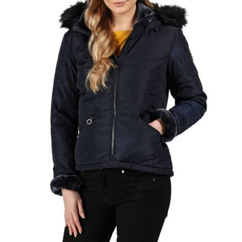Regatta Navy Westlynn Hooded Jacket