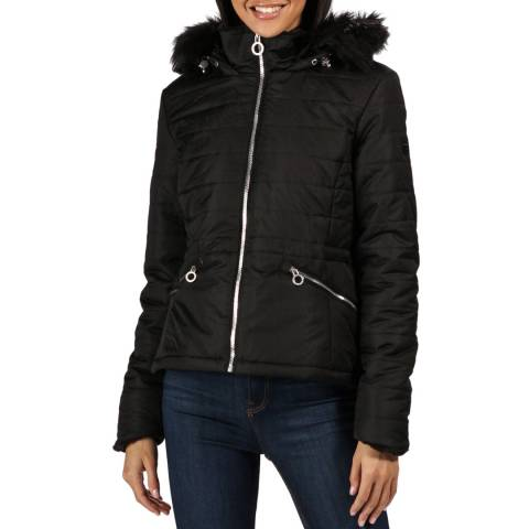 Regatta Black Westlynn Hooded Jacket