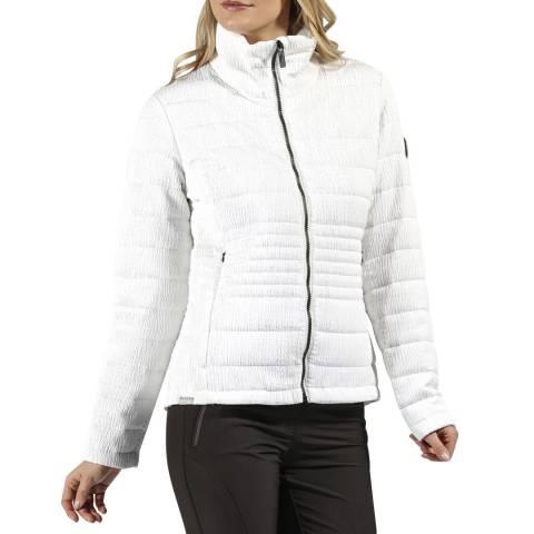 Regatta White Lustel Walking Jacket
